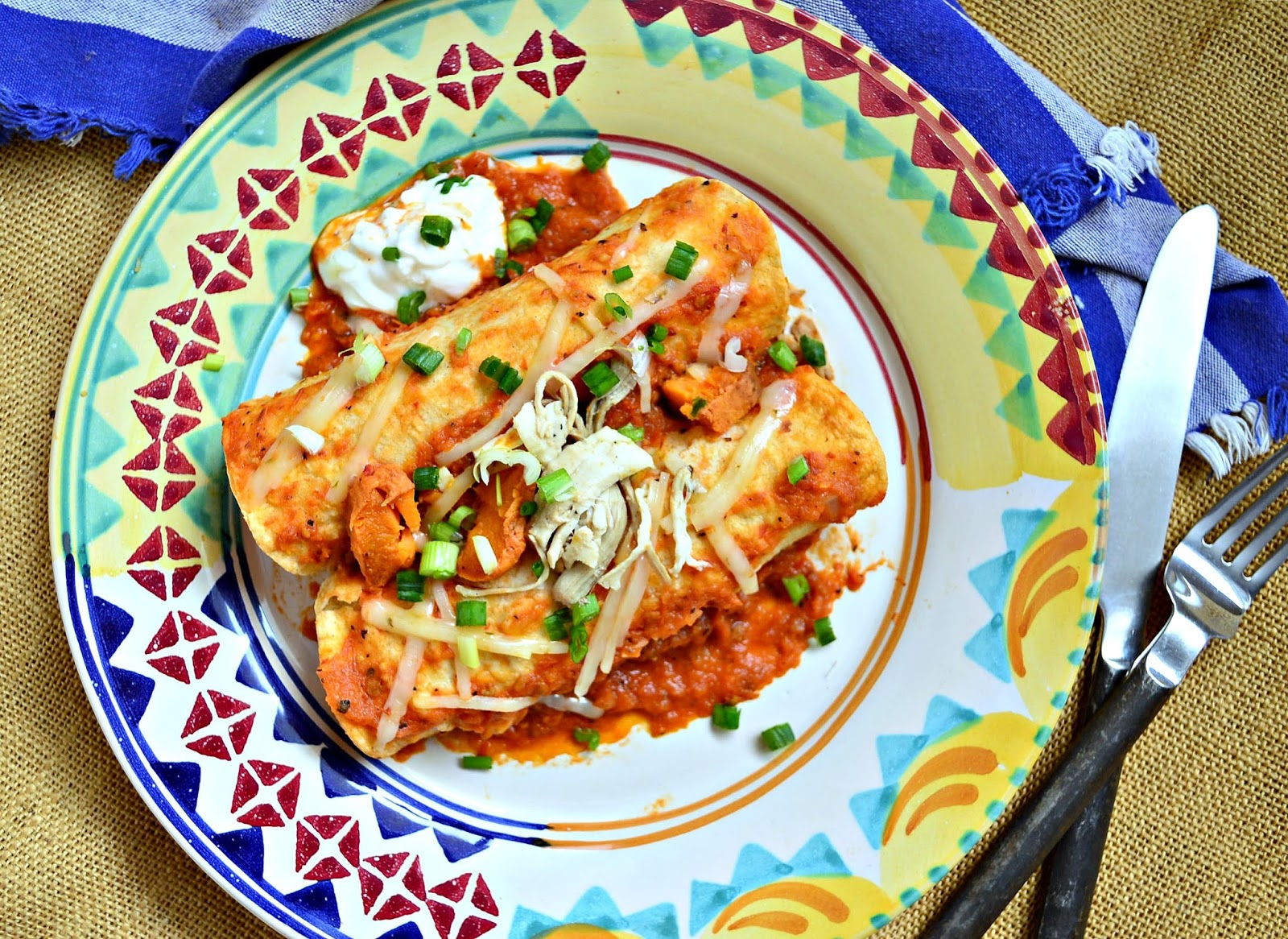 This is How I Cook: Turkey and Sweet Potato Enchiladas ...