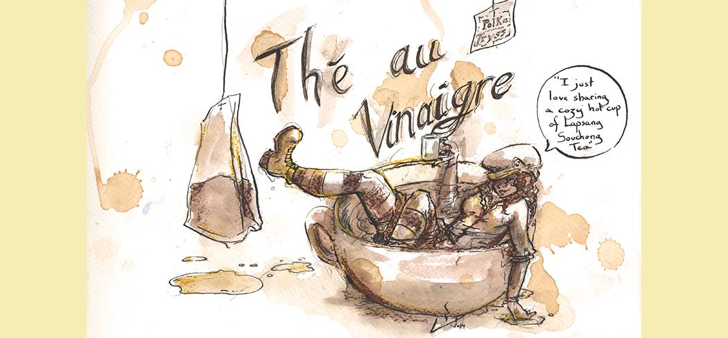 Thé au vinaigre