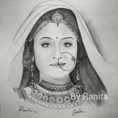 Foto - Foto Terbaik Paridhi Sharma Pemeran Ratu Jodha