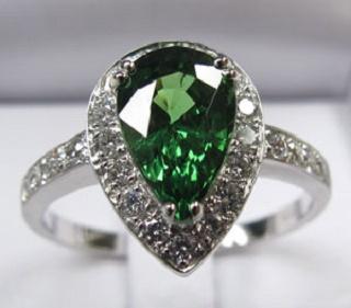 Tsavorite Garnet Jewelry