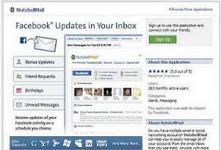 Mendapatkan Update Status Facebook di Email