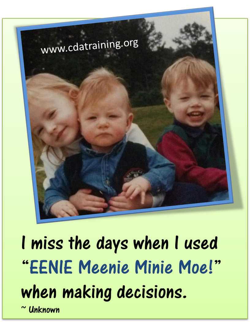 i miss the days when i used eenie meenie minie moe