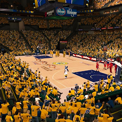NBA 2K14 Indiana Pacers Playoffs Crowd Mod