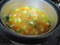 vegetable biryani in electric rice cooker