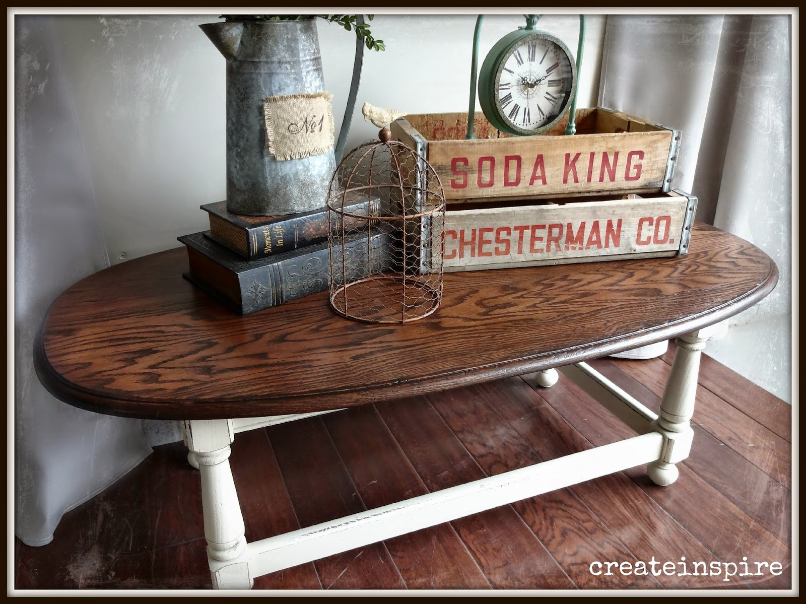 Createinspire Coffee Table In Linen