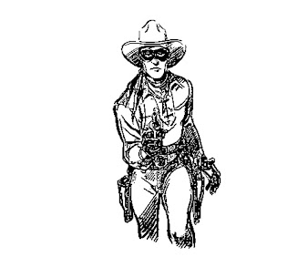 #1 The Lone Ranger Coloring Page