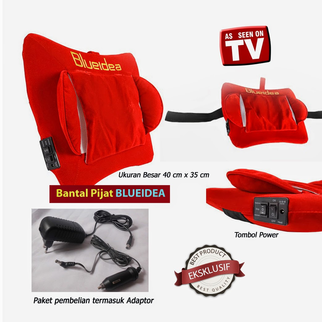 Bantal Pijat Blueidea Infrared