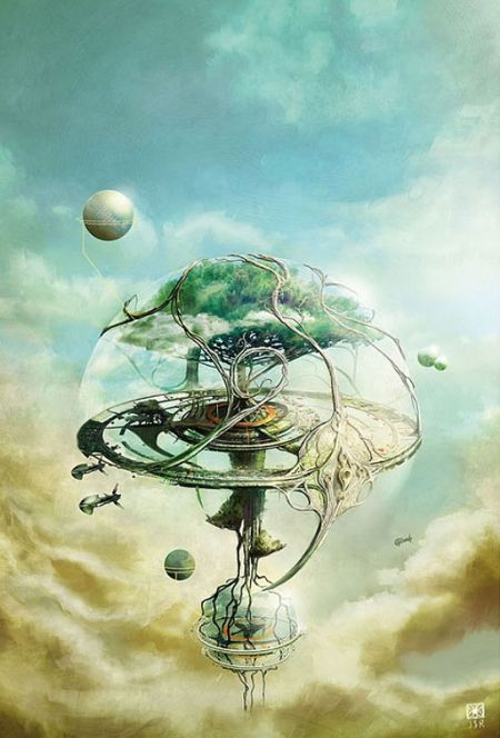 Jean-Sebastien Rossbach ilustrações de fantasia