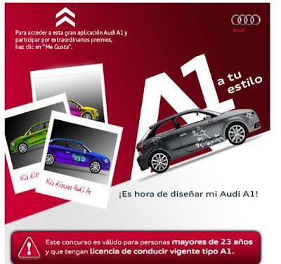 CONCURSO AUTOS AUDI PERU