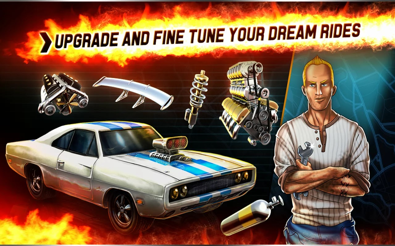 Hot Rod Racers v1.0.3 Mod [Unlimited Coins/Crowns/All Cars]