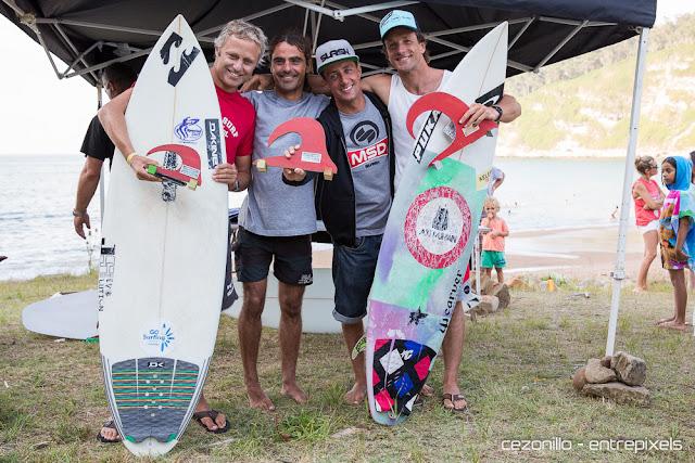Ganadores Open Playa España