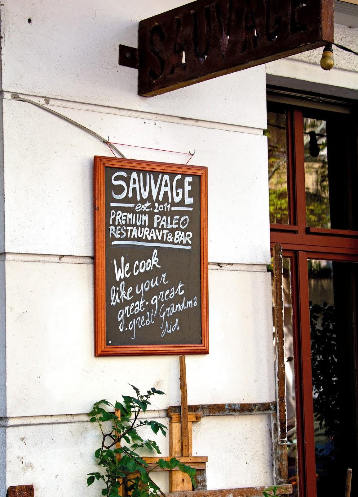 Sauvage Restaurant
