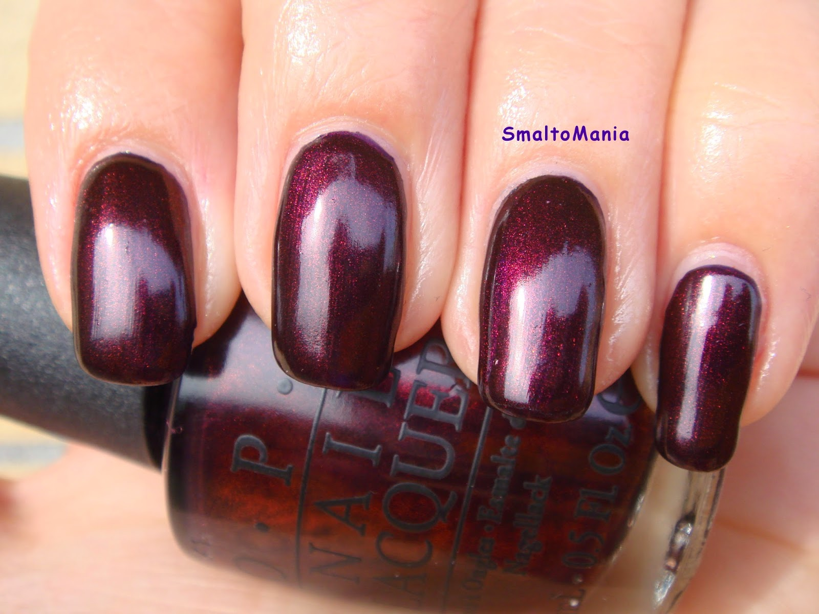 OPI Every Month Is Oktobefest