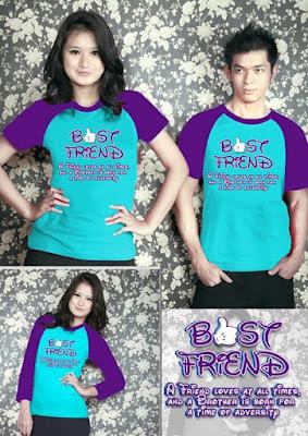 Kaos atau Tshirt - Ide Kado untuk Sahabat Perempuan