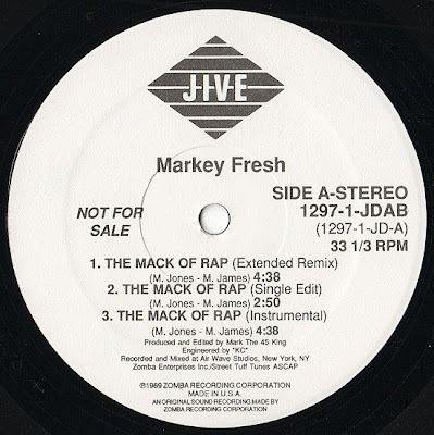 Markey Fresh – The Mack Of Rap (1989, 192) VLS