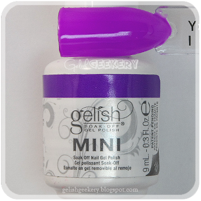 Gelish Swatch You Glare I Glow