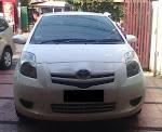 Dijual Toyota Yaris J AT Putih tahun 2008