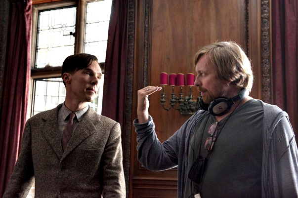 En el set de The Imitation Game