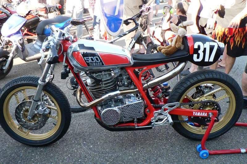 Yamaha Cafe Racer Parts