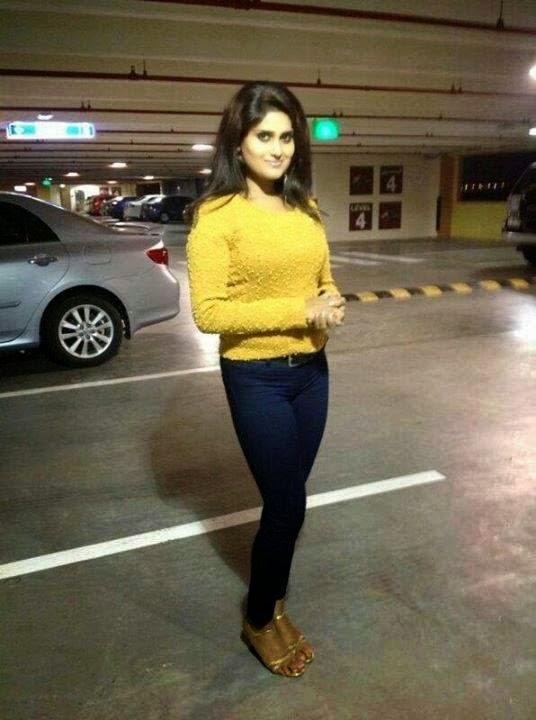 Desi Aunty In Car Park