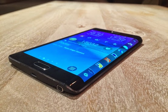 Samsung Galaxy Note 4 has arrived together with Note Edge