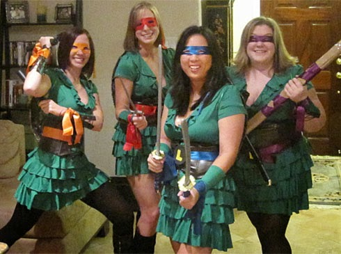Ninja Turtles Ladies Halloween