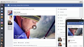Cara Menerapkan Tampilan Facebook Terbaru News Feed - Jona Rendra