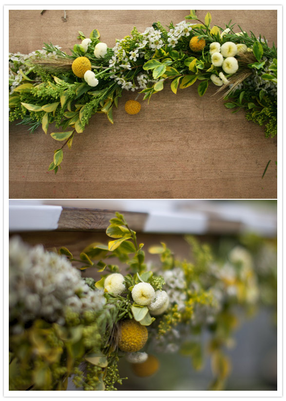 LQ Designs DIY Floral Garland From Local Social