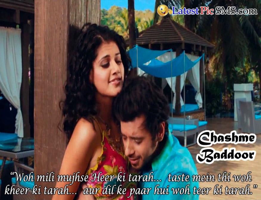 chasme baddor Bollywood Dialogues
