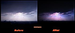 contoh hasil cara membuat efek ROL pada foto