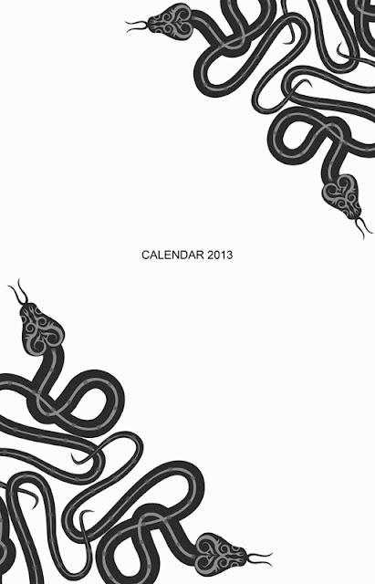 корпоративный календарь 2013