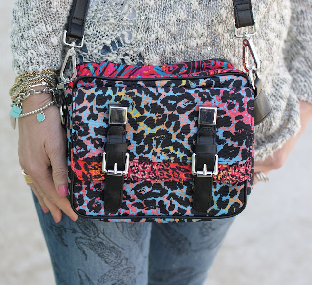 80s bag, Zara printed messenger bag, Fashion and Cookies