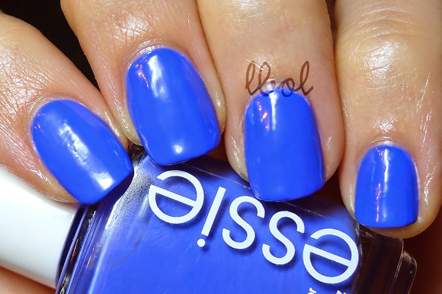 Essie Summer Neon 2014 Chills & Thrills Swatch