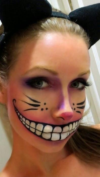 caras maquilladas para halloween