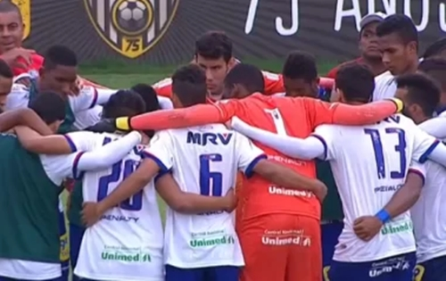 Bahia perde para o América-MG