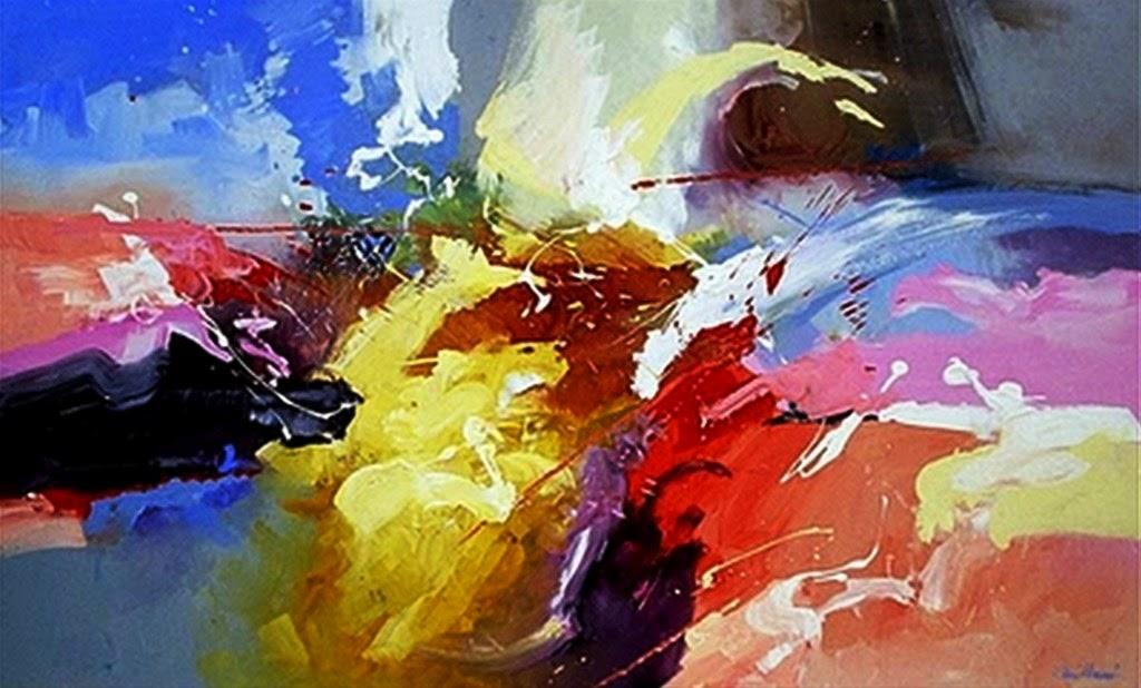 Image gallery pinturas abstractas - Cuadros de parejas ...