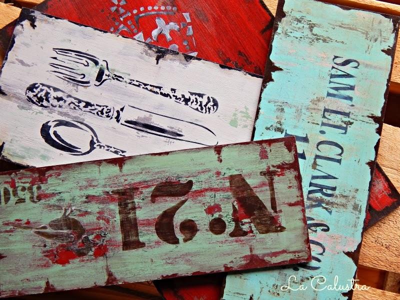 Tienda la calustra carteles vintage - Carteles retro ...