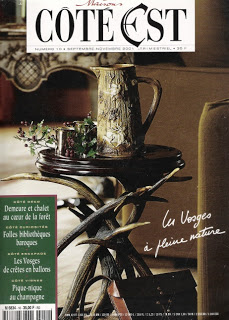 Maisons Côté Est Magazine, L's pick, subscription available in the emporium by linenandlavender.net
