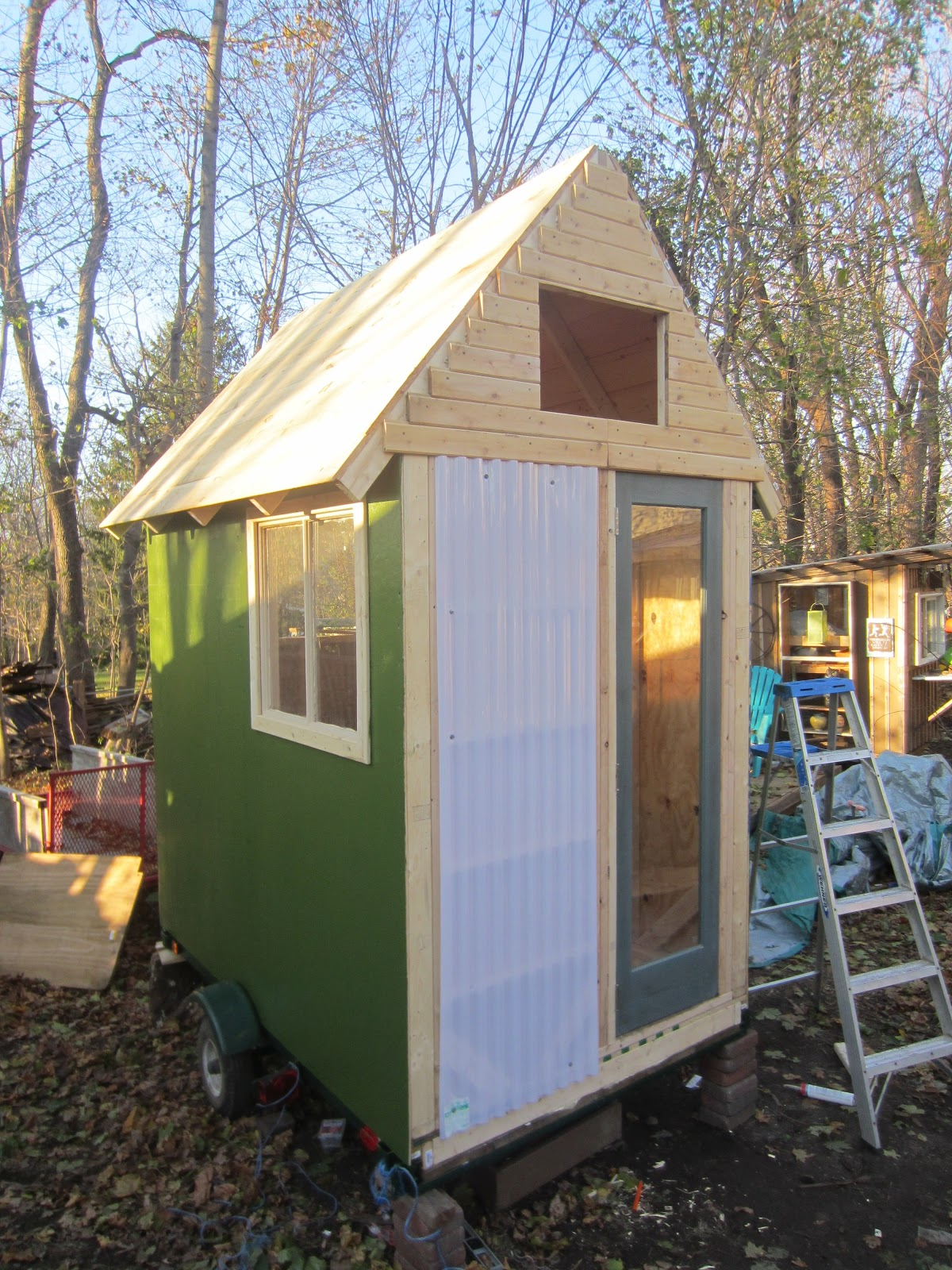 The light box a 45 square foot tiny for Micro homes on wheels