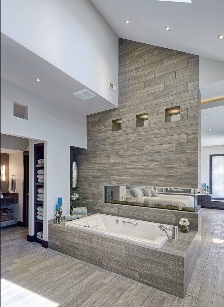 The tile shop design by kirsty latest bathroom trends for Latest bathroom tile trends