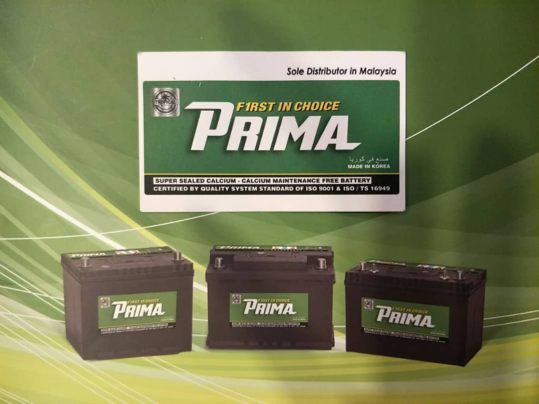 Prima Hi Life Battery