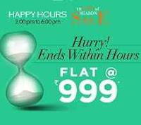 Trendin Happy Hours Sale Buy Anything At Rs 799 Via Trendin:buytoearn