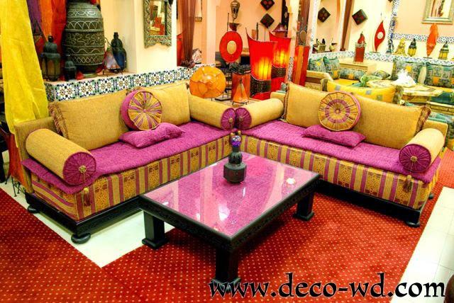 ديكور صالونات مغربية
