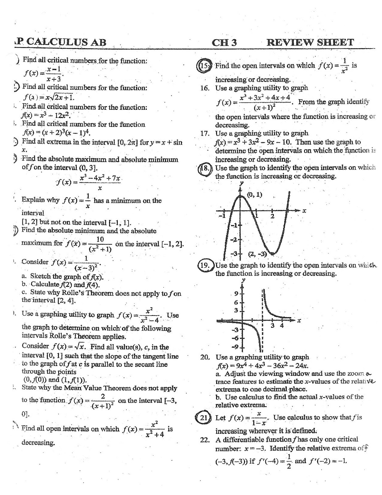 Printables Calculus Optimization Worksheet calculus optimization worksheet imperialdesignstudio driverlayer search engine