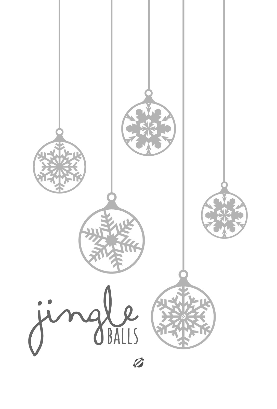 LostBumblebee 2013 Jingle Balls Christmas FreePrintable