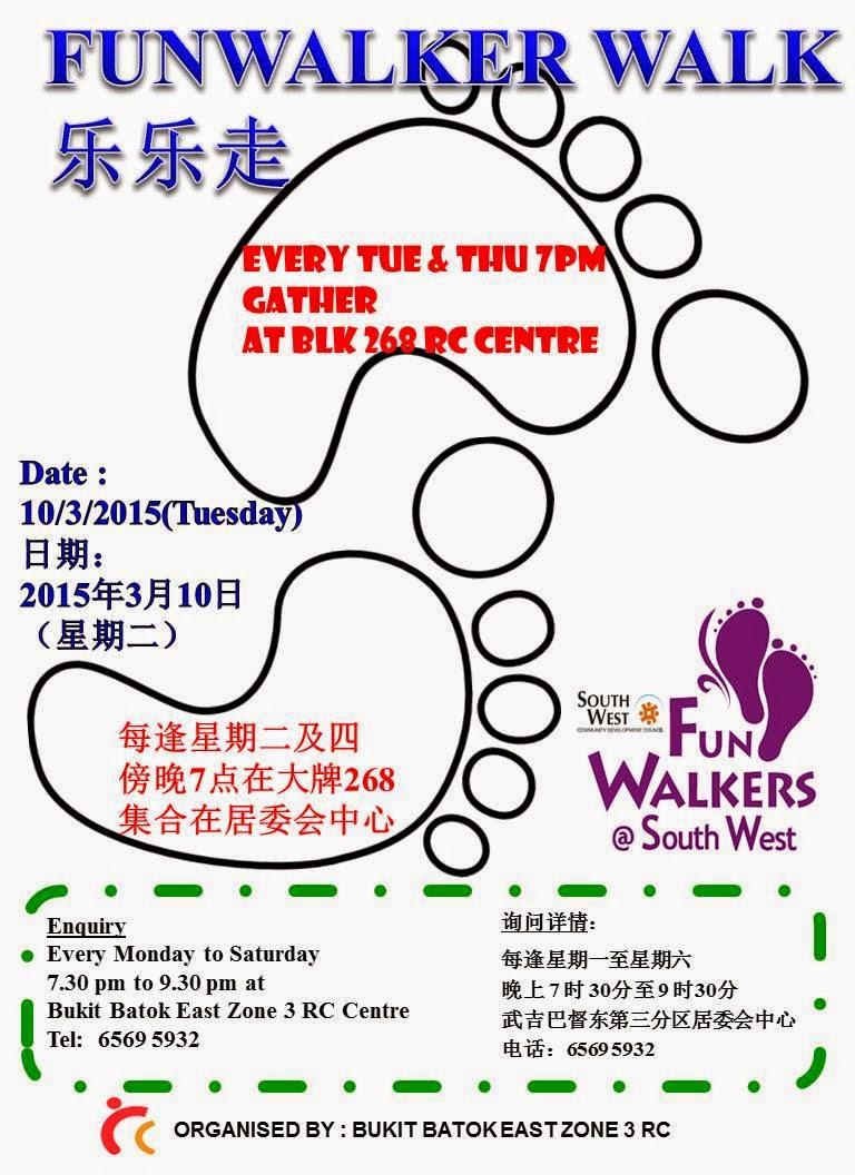 Funwalker walk