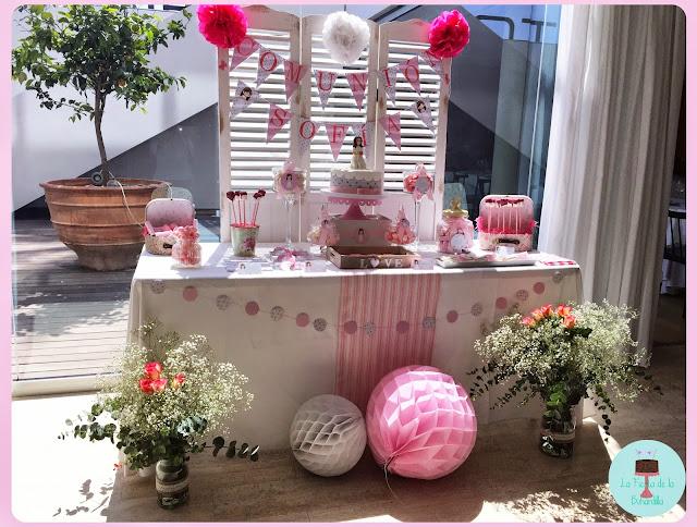 mesa dulce/candy bar comunión