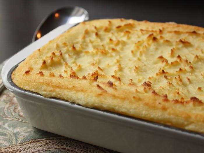 Food wishes video recipes make ahead mascarpone mashed potatoes holiday trick and treat - New potatoes recipes treat ...