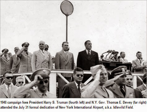 Gerald Behn with President Truman