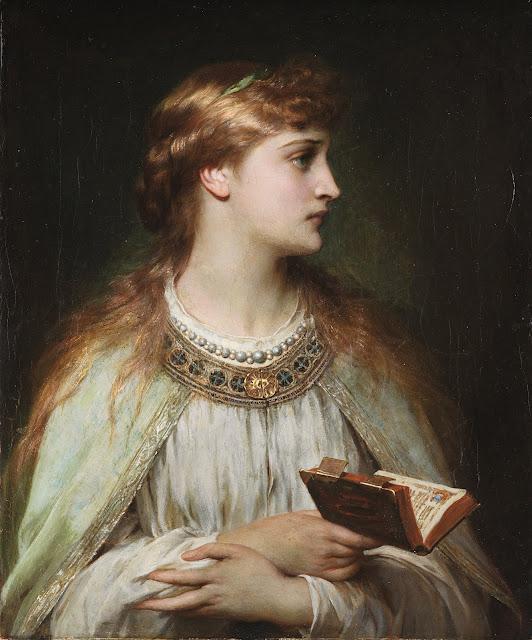ophelia,frank dicksee,art history